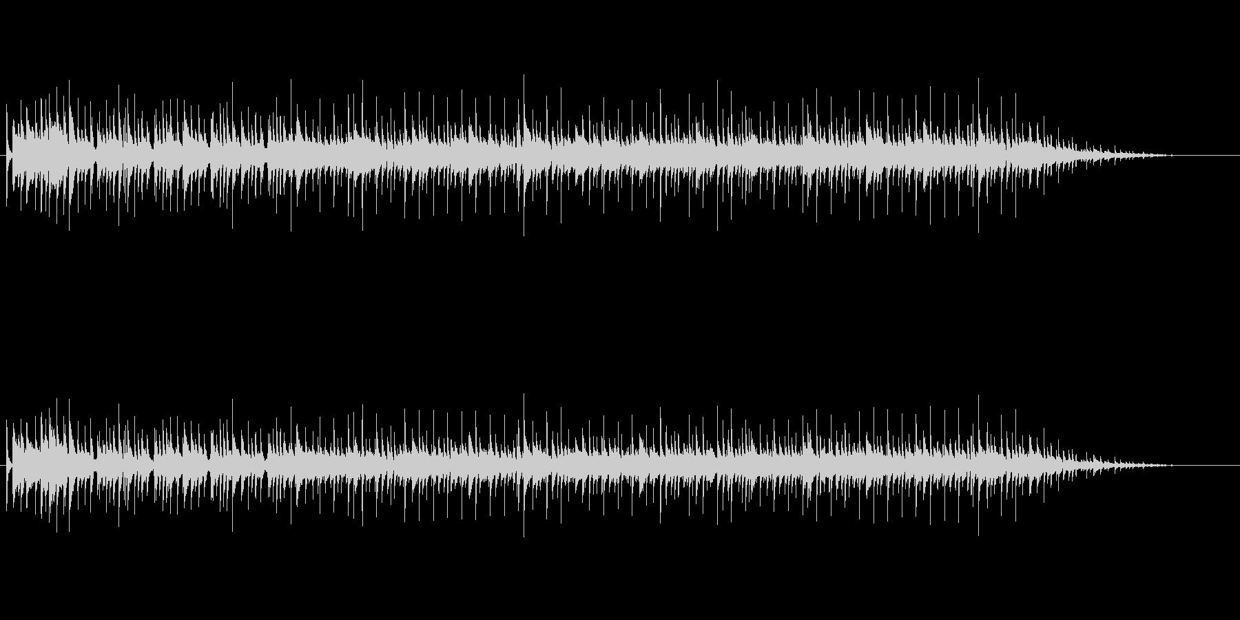 おしゃれな大人なムードミュージックの未再生の波形