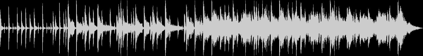 アコースティックベース、ピアノ、シ...の未再生の波形