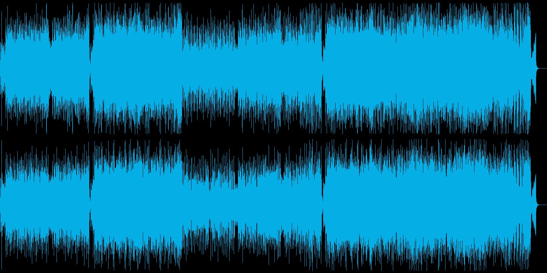 情熱大陸のようなバイオリン情熱的BGMの再生済みの波形