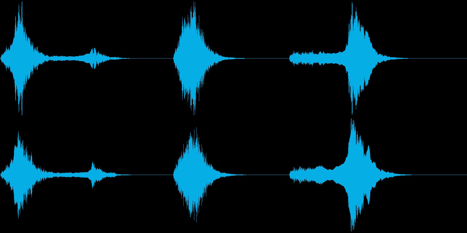 音楽:不気味なビッグチベットホーン。の再生済みの波形