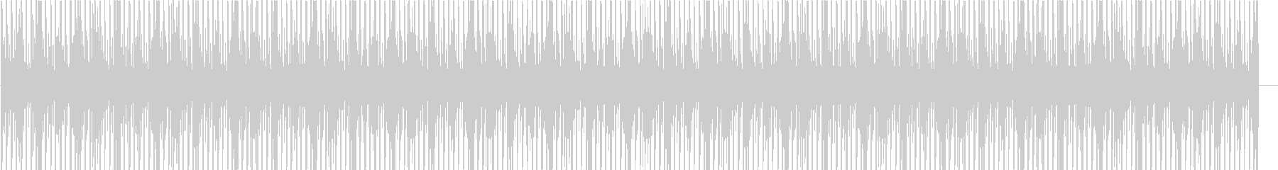 グルーヴィーな大人のHipHopの未再生の波形