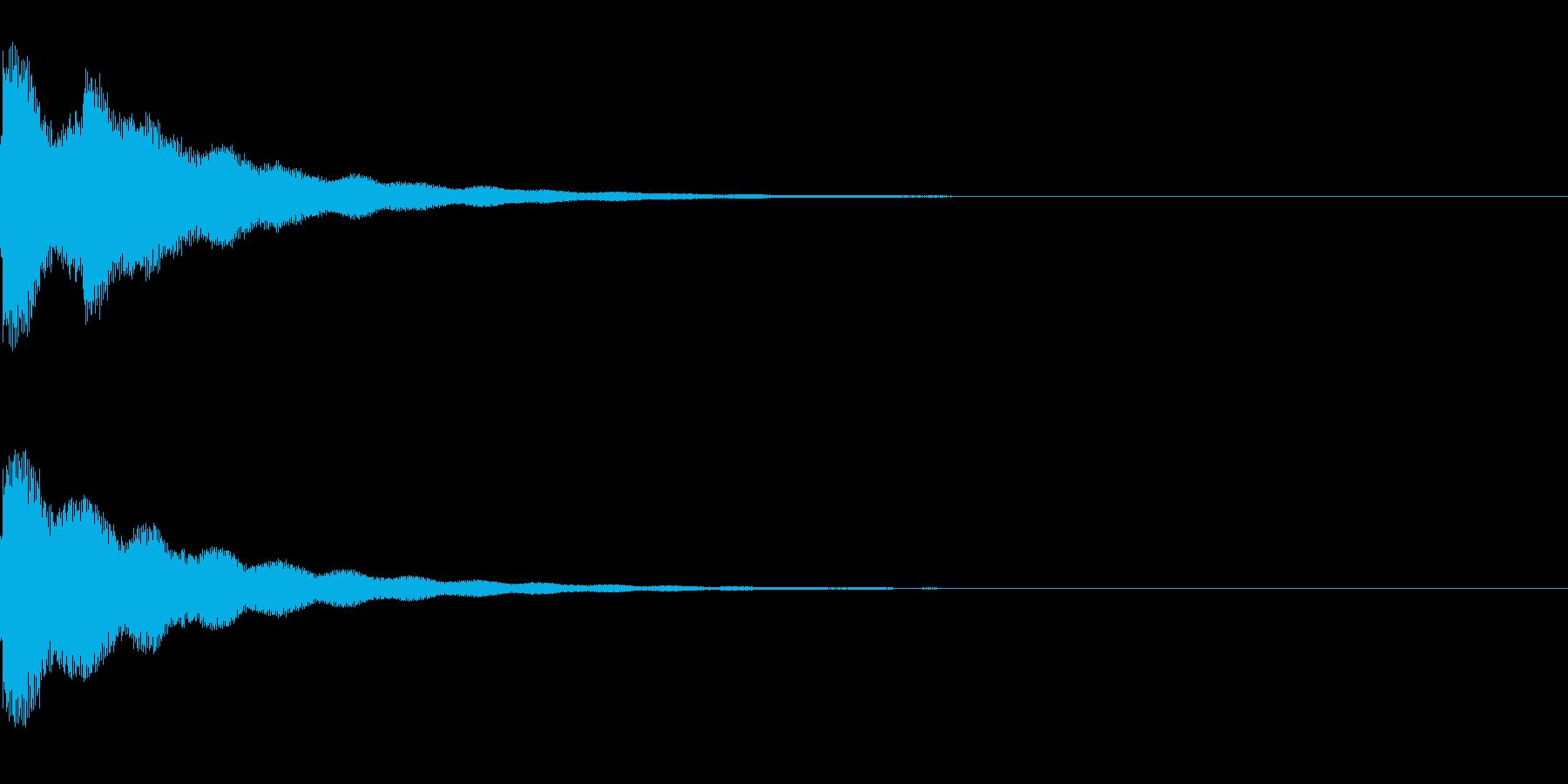 リリーン(光る音、気づく音)の再生済みの波形