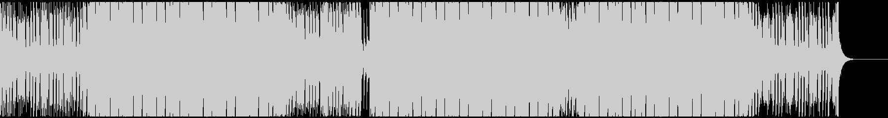 グルーヴ感のあるEDMハウス CM・映像の未再生の波形