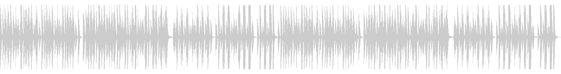 YouTube、トーク、ピアノ、木琴の未再生の波形
