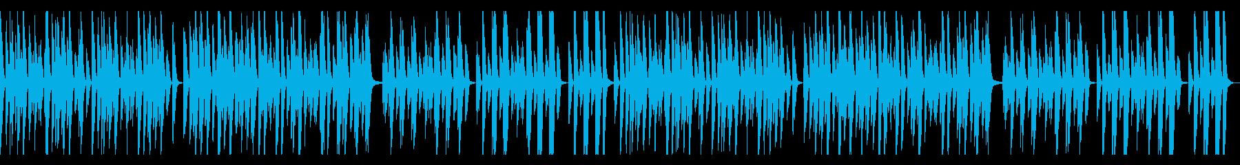 YouTube、トーク、ピアノ、木琴の再生済みの波形