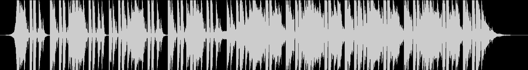 ポップ テクノ 代替案 アクティブ...の未再生の波形