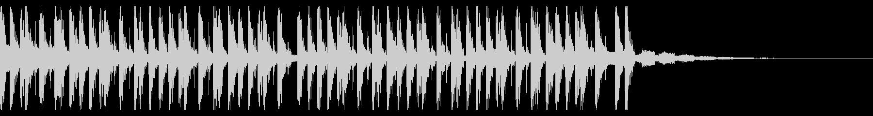 ファッションウィーク(20秒)の未再生の波形