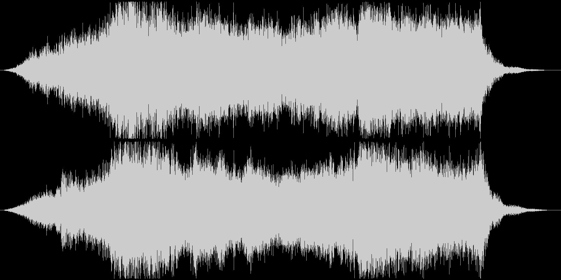日本的で和風なオーケストラジングルの未再生の波形