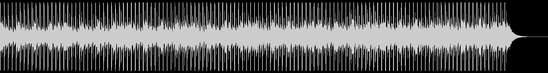 技術プレゼンテーション(中)の未再生の波形