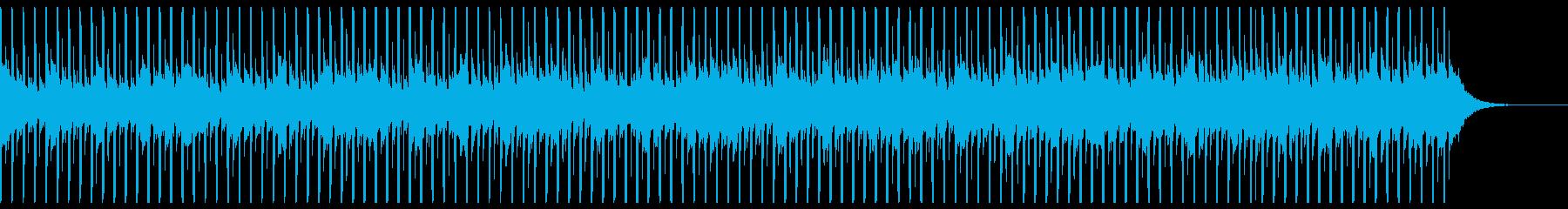 技術プレゼンテーション(中)の再生済みの波形