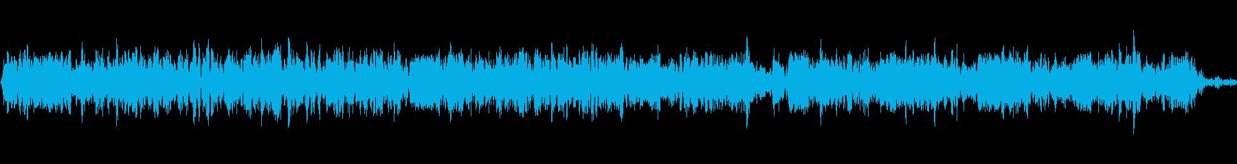 複数の双方向無線スケルチとフィード...の再生済みの波形