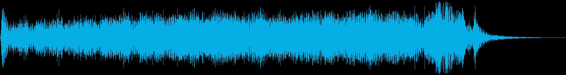 巨大な電動ボールドア:閉じてラッチ...の再生済みの波形