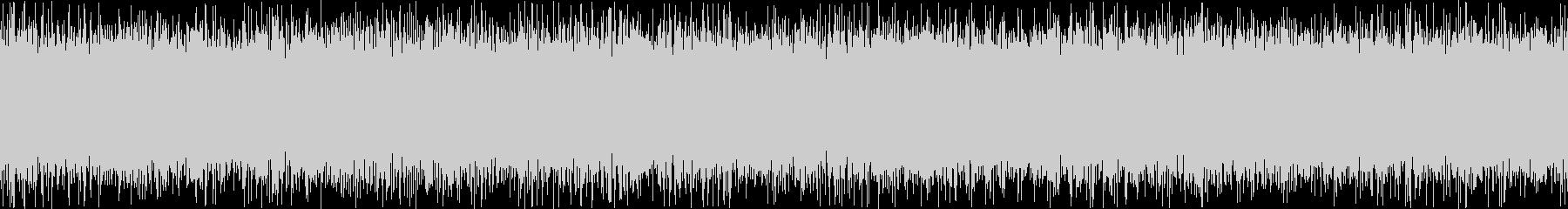 ザァー(FMラジオのノイズE)ループ処理の未再生の波形