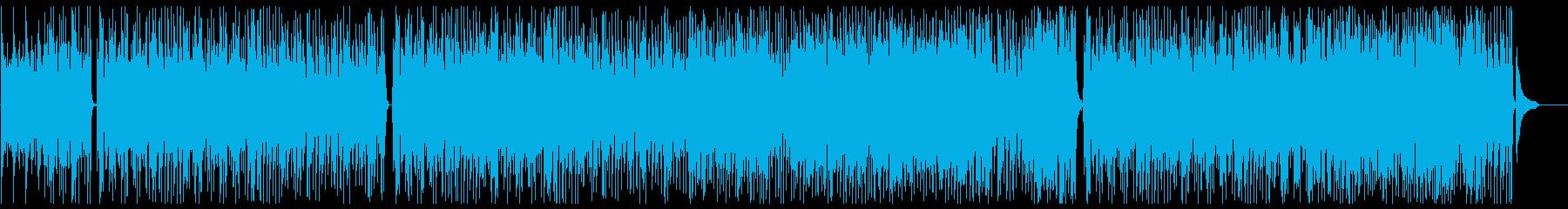深夜2時のムード系フュージョンポップスの再生済みの波形