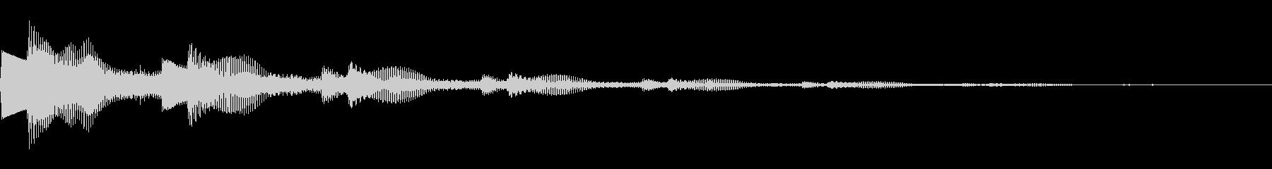 決定音/ボタン/システム/シンプル A2の未再生の波形