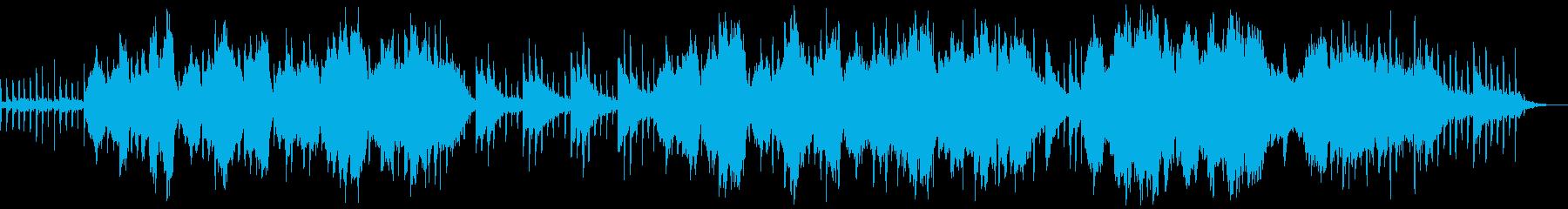 チェロ主体のレトロで寂しい哀愁曲の再生済みの波形