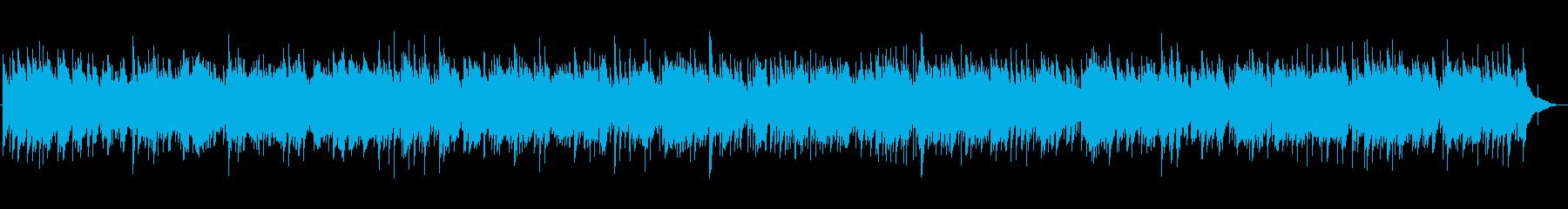 3拍子アコースティックバラードの再生済みの波形