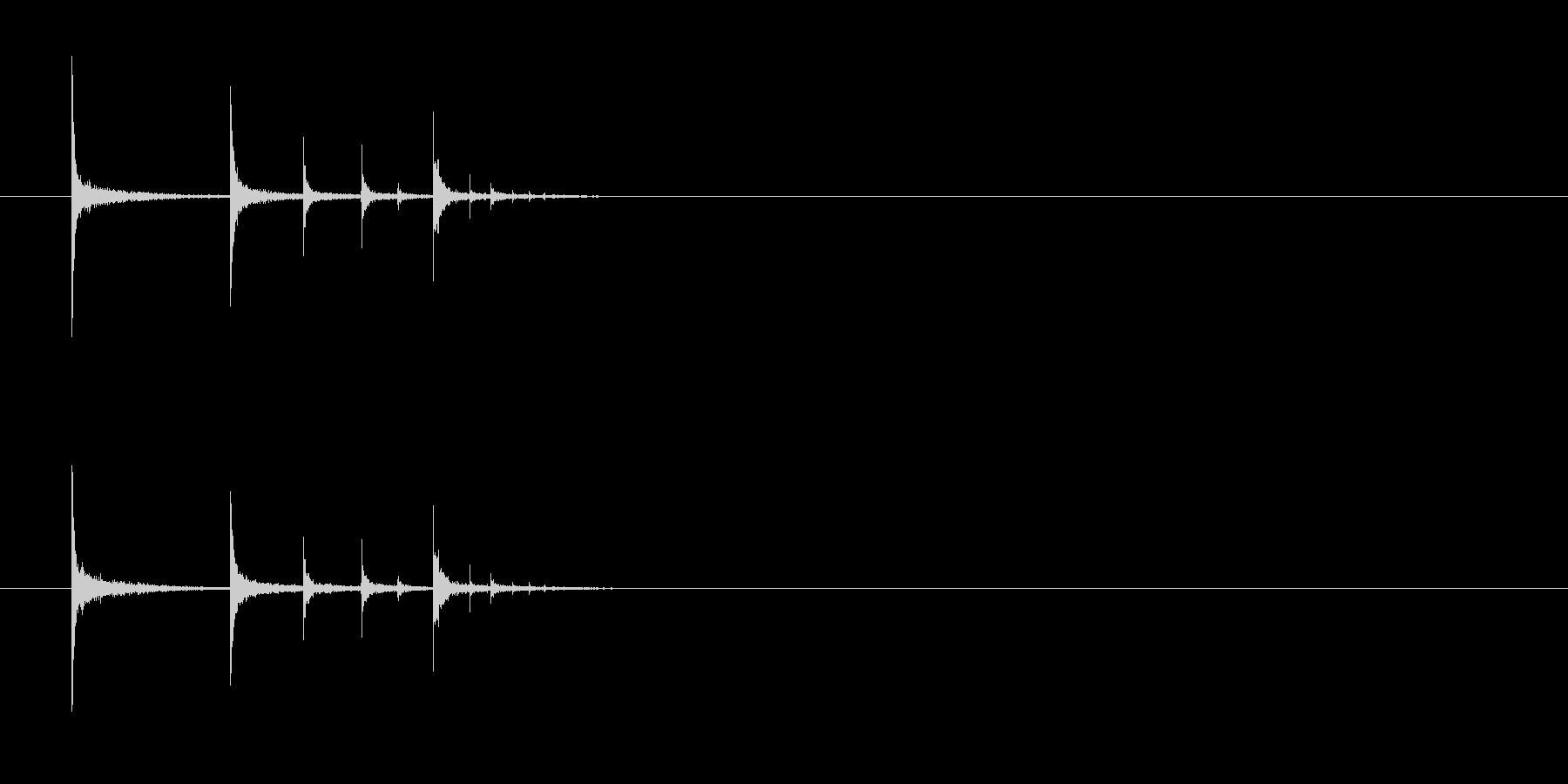 ポップキャン、フォールメタルインパクトの未再生の波形