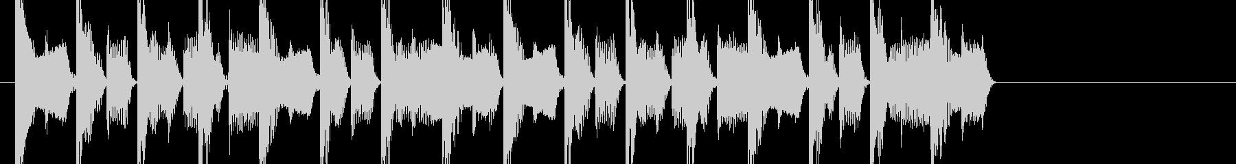 ダンサブルなEDMのジングルです。の未再生の波形