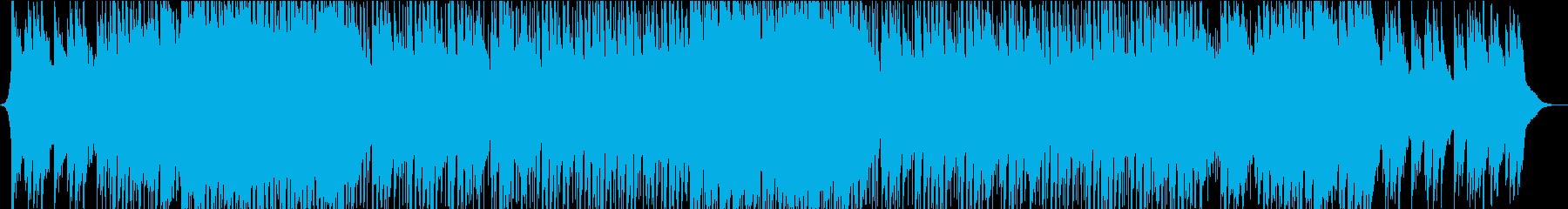 ピアノがメインの切なくも力強いバラードの再生済みの波形