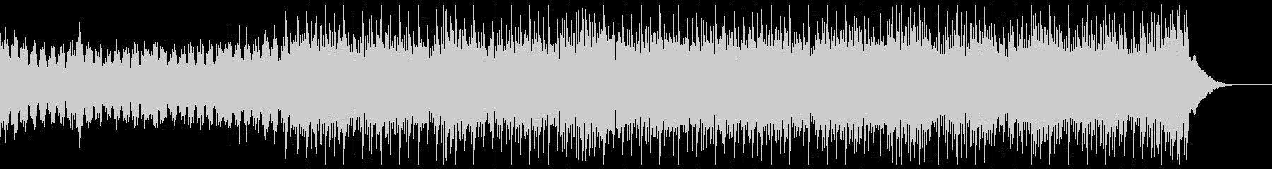 エレクトロチックな四つ打ちの未再生の波形