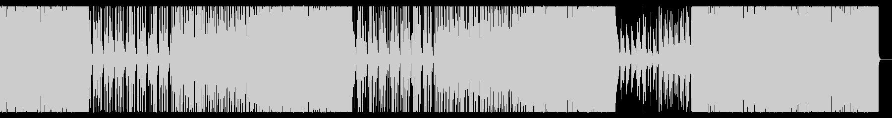 可愛らしいジャズピアノのトラックの未再生の波形