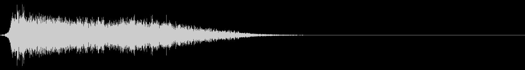 コミカルなダッシュ,ジャンプ効果音!6cの未再生の波形