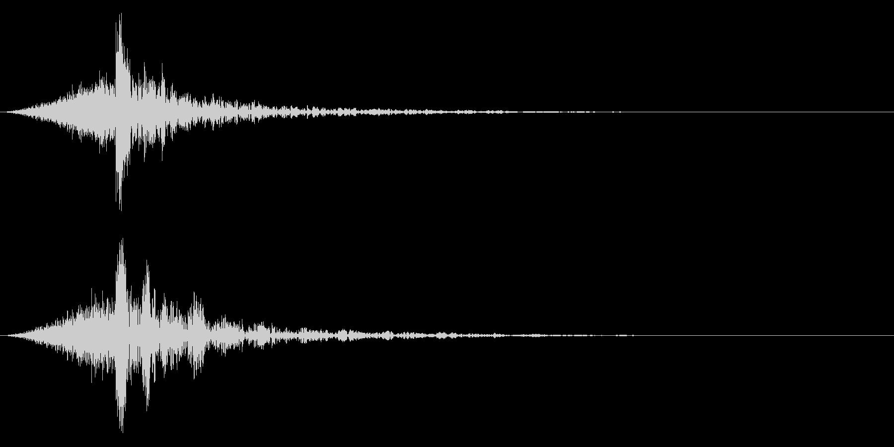 シュードーン-61-4(インパクト音)の未再生の波形