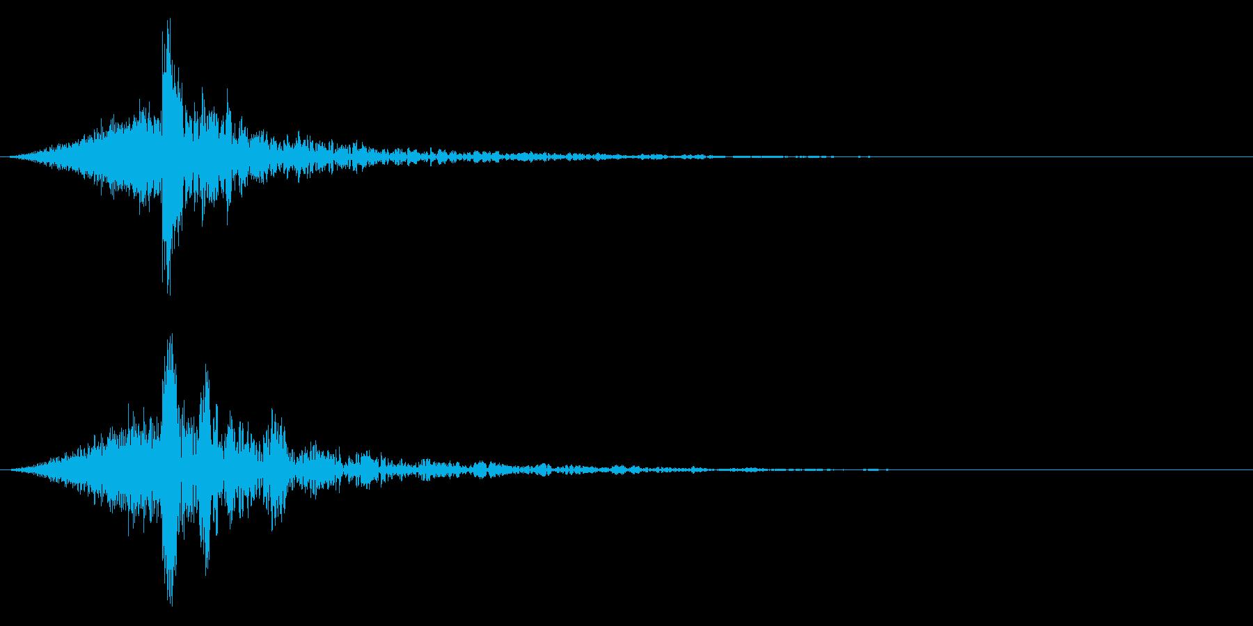 シュードーン-61-4(インパクト音)の再生済みの波形