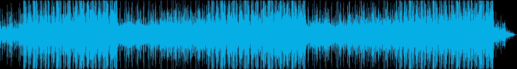 透明感あるメロディーと重低音のビートの再生済みの波形