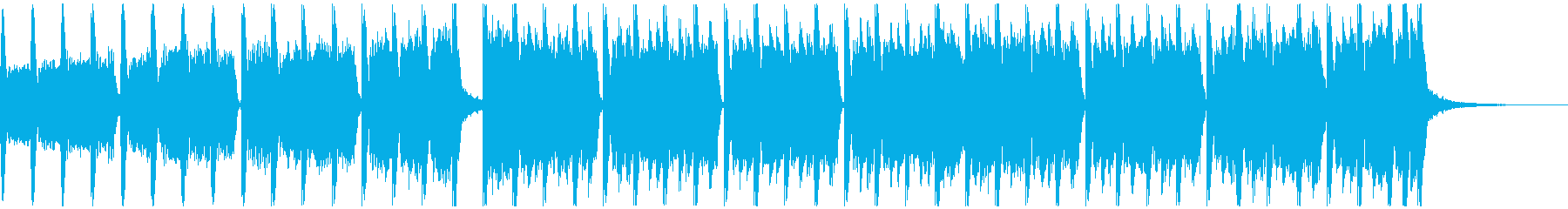アクションスポーツ(30秒)の再生済みの波形