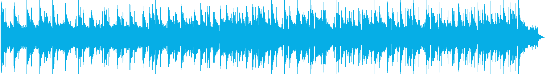 Calm and dramatic BGM's reproduced waveform