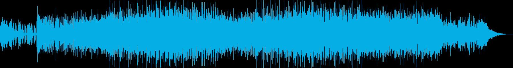 ドキュメンタリー映像向けBGMの再生済みの波形