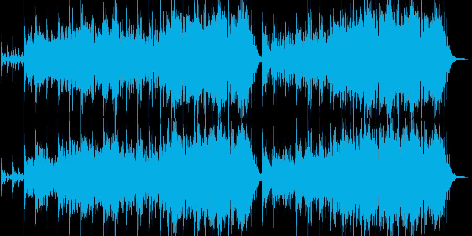 明るくもどこか幻想的なクラシックの再生済みの波形