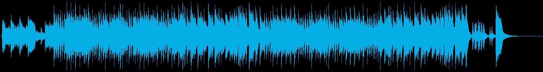 アップテンポでスリリングなブラス音楽の再生済みの波形