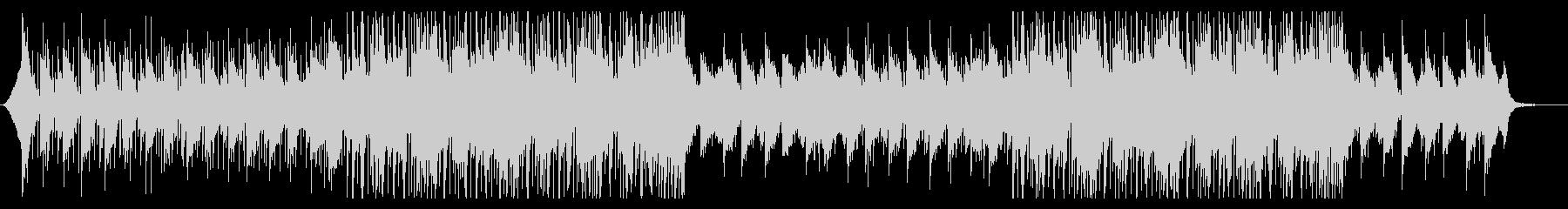エレピをメインとしたムーディーなハウス曲の未再生の波形