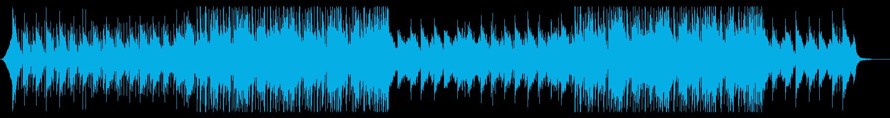 エレピをメインとしたムーディーなハウス曲の再生済みの波形
