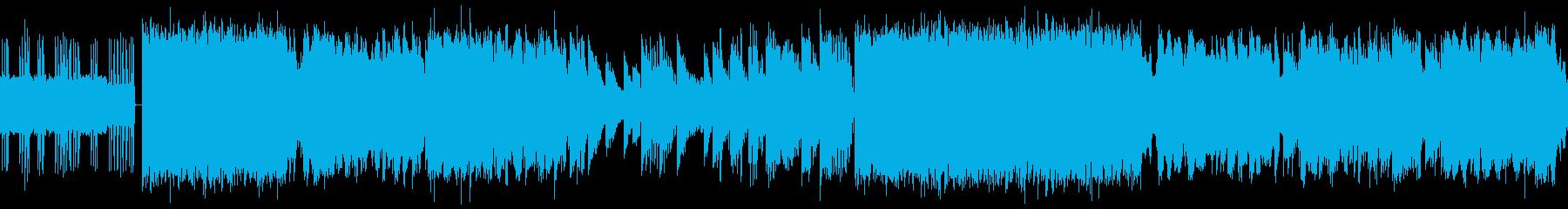 シンセベースのドロップサウンドを含...の再生済みの波形