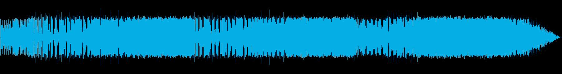 アルトサックスのメロディーを備えた...の再生済みの波形