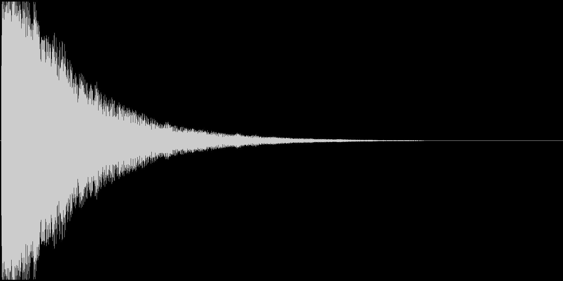 ブゥゥゥゥゥゥゥンの未再生の波形