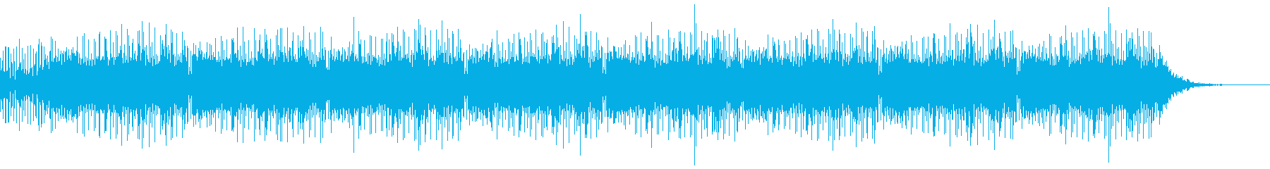 レトロPCゲーム調STGBGMの再生済みの波形