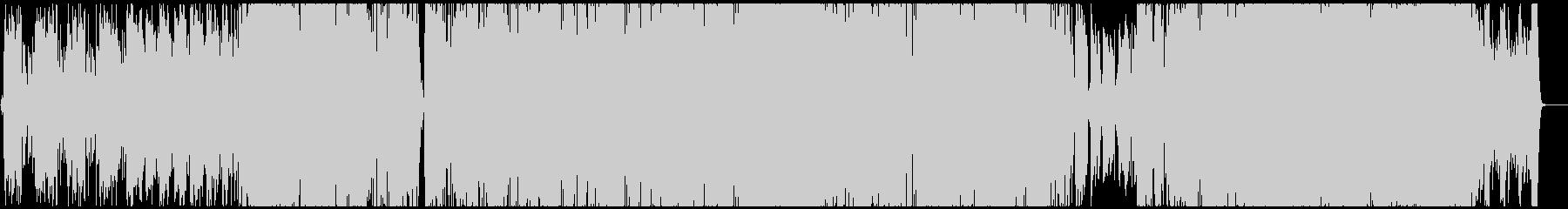 男性Vo アコギ主体の温かいポップスの未再生の波形