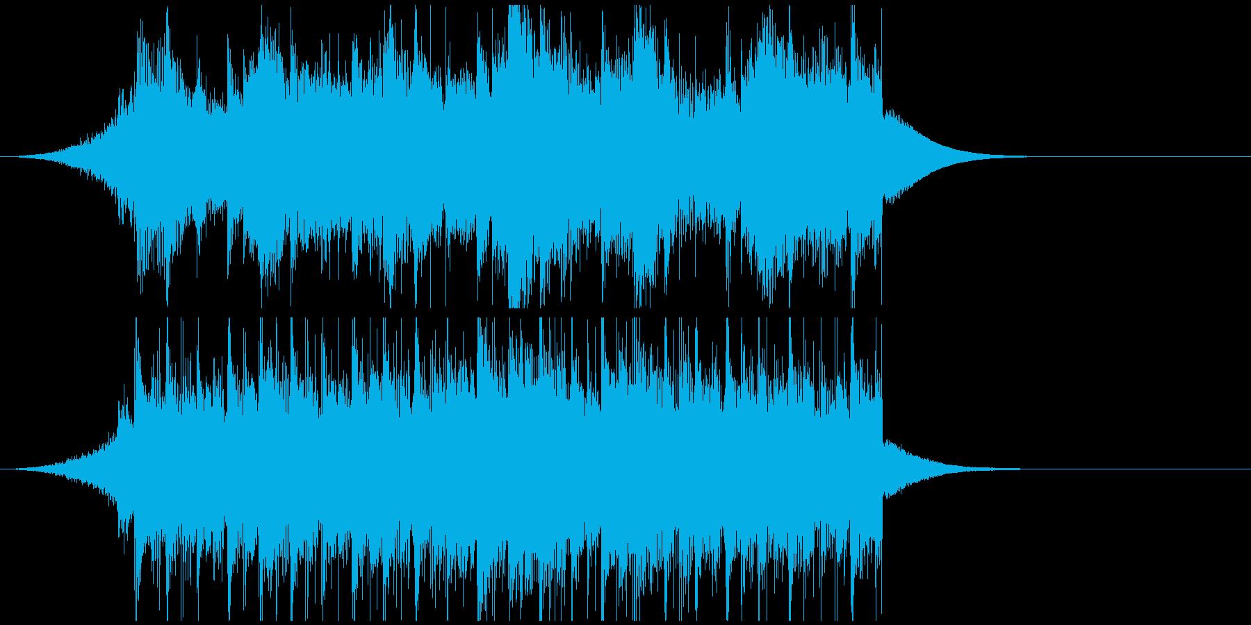 企業VPジングル オープニング系感動壮大の再生済みの波形