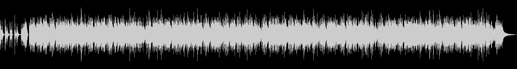 イントロ付郷愁のあるメロディのソロピアノの未再生の波形