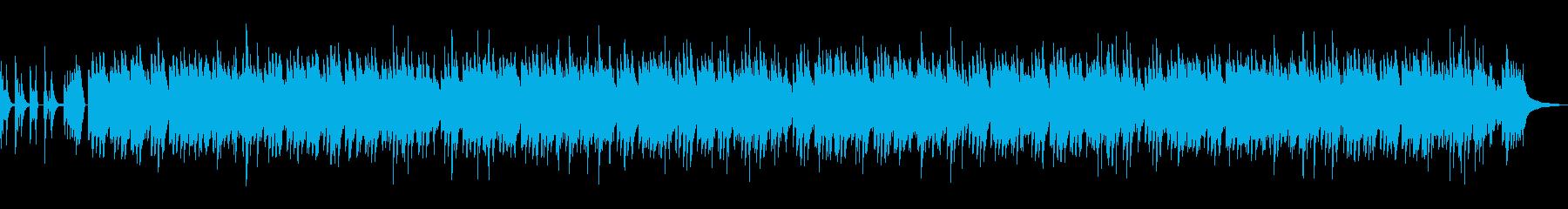 イントロ付郷愁のあるメロディのソロピアノの再生済みの波形