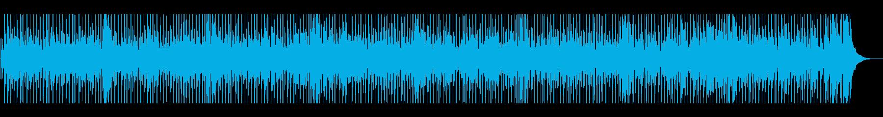 軽快なマンドリンカントリーの再生済みの波形