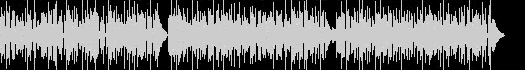 料理・子供・ペット・ほのぼのピアノの未再生の波形