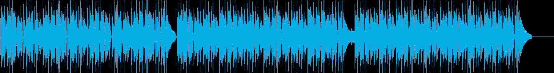 料理・子供・ペット・ほのぼのピアノの再生済みの波形