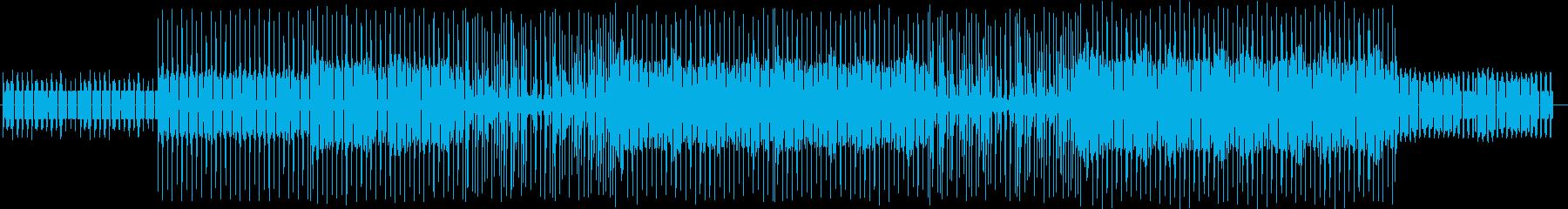猫をイメージした軽快なポップスの再生済みの波形