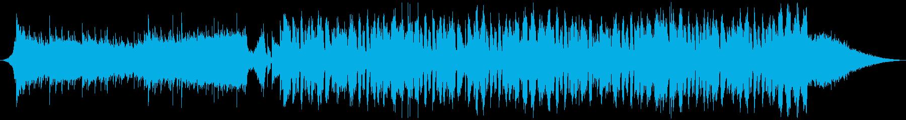 夏 ビーチ メタル トロピカルハウスの再生済みの波形